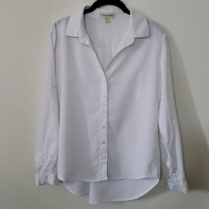 Anthropologie Cloth & Stone button down blouse, PS